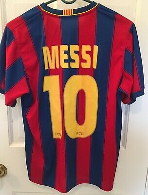 e2ef49f3fbb MESSI #10 BARCELONA FCB Soccer Football Jersey_Sz MEDIUM_UNICEF_Official  Product