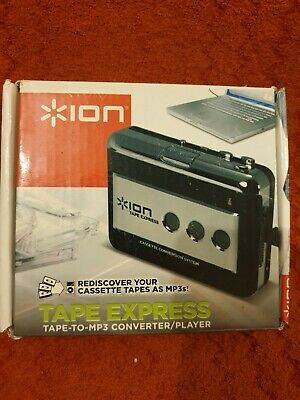 ION Audio Tape Express Analogue to Digital MP3 Cassette Converter