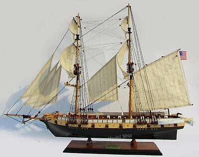 "USS Brig Niagara Model Ship 33"" Hancrafted Wooden Ship Model"