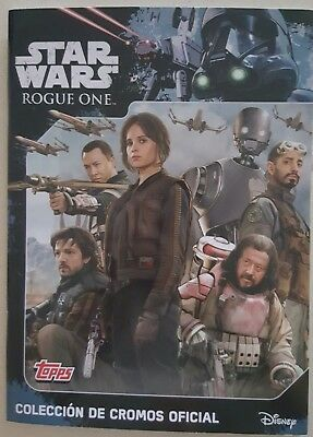 Album completo STAR WARS  ROGUE ONE topps castellano