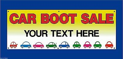 Car Boot Sale Here Banners Choose Own Date Time Car Boot Fares