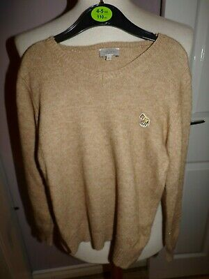Superb Boys Designer Paul Smith Wool Blend Jumper Rrp £80.00 Uk 8 Years