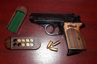 Walther Ppk Walnut Wood Grips/Grip  Aas