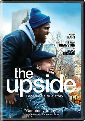 The Upside Dvd | New | Bryan Cranston | Kevin Hart | Nicole Kidman