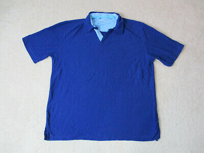 b390887a Nat Nast Polo Shirt Size Adult Large Blue Luxury Originals Casual Rugby Mens
