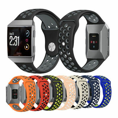 Sport Rubber Silicone Watch Band Bracelet Strap For Fitbit Ionic Watch Wristband