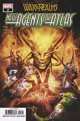 War Of Realms New Agents Of Atlas #2 1St App Swordmaster 1St Print (05/22/2019)