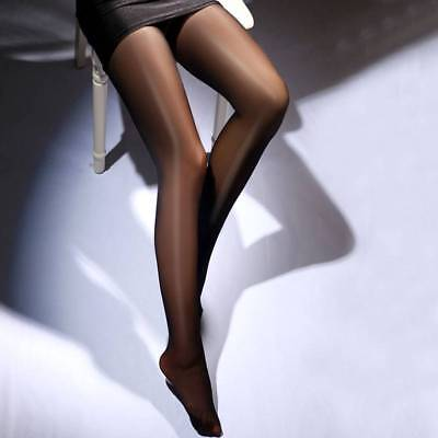 Women's High Waist Tights Crotchless Thigh High Stockings Pantyhose Open Crotch