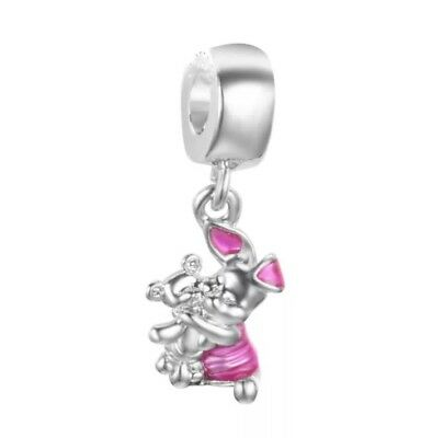 S925 whinnie the pooh, piglet European charm bead. Pandora's Vault inc