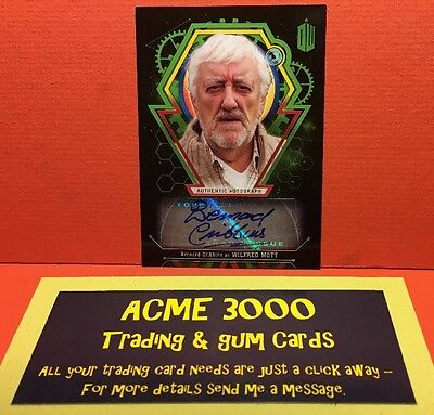 Topps Doctor Who Extraterrestrial Encounters BERNARD CRIBBINS Wilfred Mott 11/50