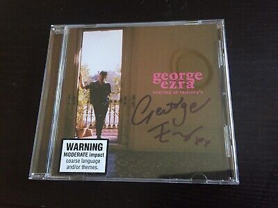 George Ezra SIGNED Autographed Staying At Tamaras CD Album Singer