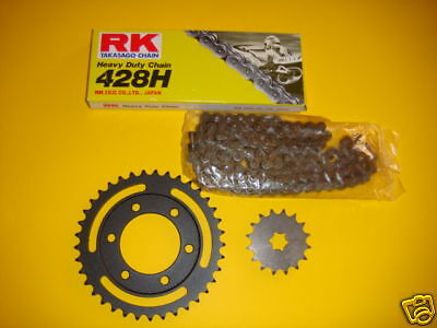 125  Dte /Dtf  Yamaha   Kit Chaine   16 X 37