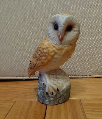 The Leonardo Collection Fine Porcelain Barn Owl Figurine