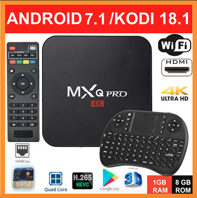 2019 SEPTEMBER Version Android Smart TV Box MXQ PRO 4K HD WIFI KODI Quad-Core 18