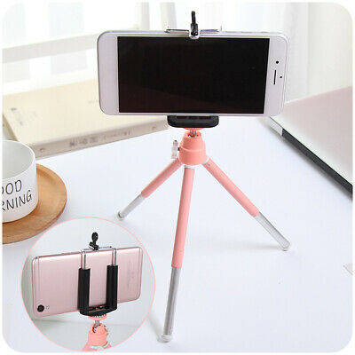 Portable Tripod Holder Stand 360° Rotation Adjustable With Clamp for Phones