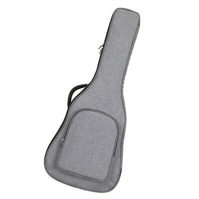 Acoustic Guitar Carrying Padded Case Gig Bag Cover for 40/41'' Guitar Gray