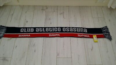 Club Atletico Osasuna scarf new with tags