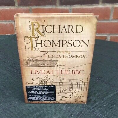 Richard Thompson Live At The BBC 3CD/1 DVD Boxset Feat Linda Thompson