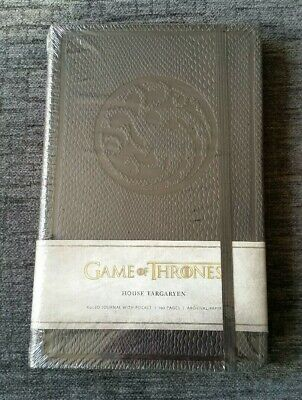 New Sealed Game of Thrones Ruled Journal: House of Targaryen Notebook 192 Pages
