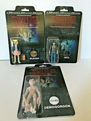 Netlfix Funko Stranger Things - Chase Figures - Eleven, Will, Demogorgon