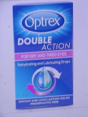 Optrex Double Action For Dry Tired Eyes Rehydrating Drops