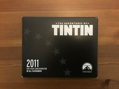 For Your Consideration FYC 2011 The Adventures of TINTIN review DVD