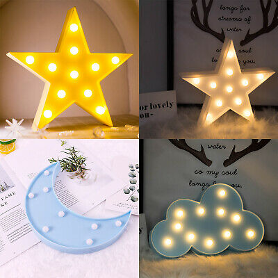 Lamps Lighting Ceiling Fans Creative Cute 3d Led Night Light Kids Bedroom Indoor Lighting Decor Lamp Bedroom Home Garden Mbln Org