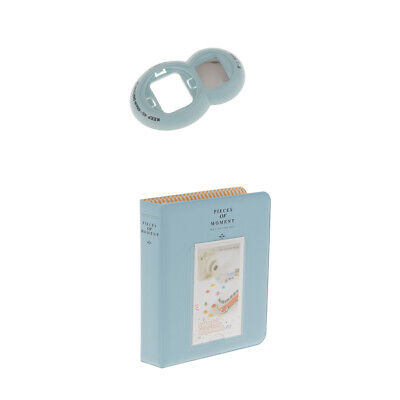 64 Pockets Album Photo Case Picture Book +Lens for Fujifilm Instax Mini8