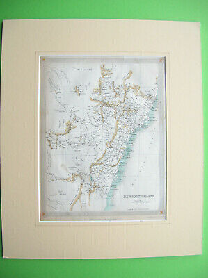 "Karte von ""New South Wales"" /Map of New South Wales"