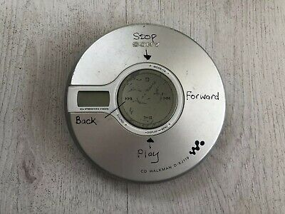 Sony D-Ej119 Personal Cd Cdr Cd-R Rw Player Discman Walkman