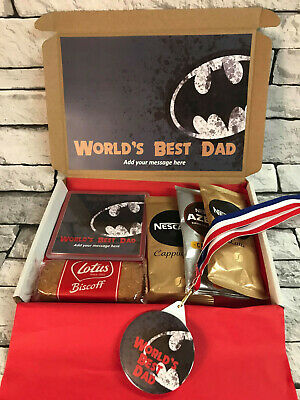 Personalised World Best Dad - Step Dad - Fathers Day - Amazing Gift - Coffee