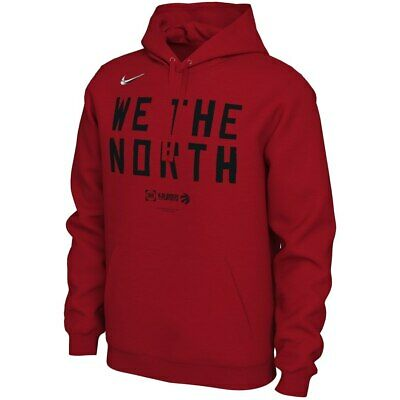 outlet store 7fe18 f94a8 Nike Toronto Raptors 2019 NBA Playoffs Team Mantra Pullover Hoodie  Sweatshirt