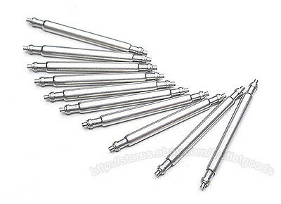4 x replacement watch spring pins/bars 10-20mm mix & match free p&p
