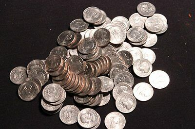 Huge Lot of 50 Circulated Unsearched Susan B. Anthony Dollars 1979 - 1999