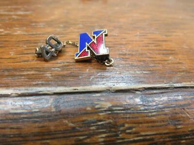 Awesome 1940 Vintage Souvenir High School University College N  Pin    (19D2)