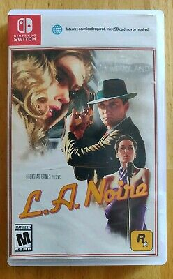L.A. Noire (Nintendo Switch, 2017) - FREE SHIPPING