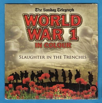 WORLD WAR 1 IN COLOUR ~ Slaughter in the Trenches — Telegraph promo DVD [Ex]
