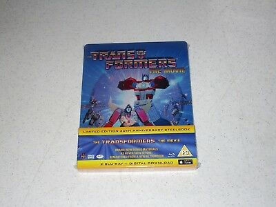 The Transformers: The Movie 30th Anniversary Blu-ray 2-Disc Steelbook Import