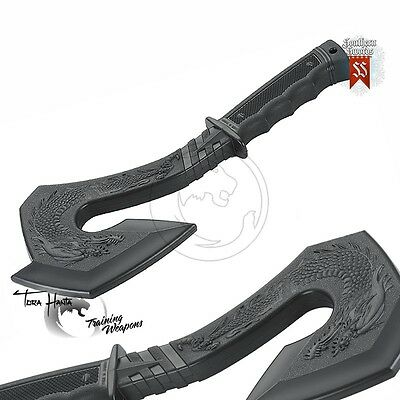 Plastic Rubber Black Dragon Training Axe, Ideal for Martial Arts Self Defence