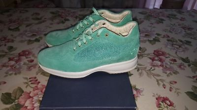the latest ce17c b1fdc BYBLOS DONNA SNEAKERS verde acqua n°39 scarpe interactive