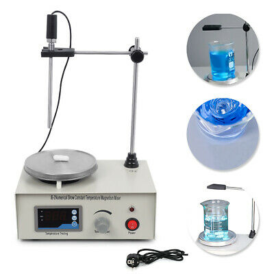 220V New Magnetic Stirrer with Heating Plate 85-2 Hotplate Mixer Digital Display