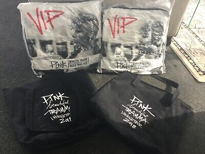 NEW VIP PINK Beautiful Trauma World Tour 2018 Cushion Pillow Concert Merchandise