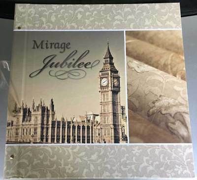 Mirage Jubilee Wallpaper Sample Book Scrapbooking Paper Crafts Card Making