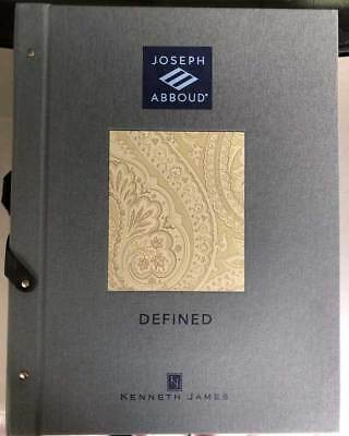 Joseph Abboud Defined Wallpaper Sample Book Scrapbooking Paper Crafts Cards