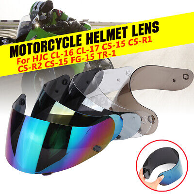 Motorcycle Helmet Shield Lens Visor For HJC TR-1 CL-16 CL-17 CS-15 CS-R2 CS-R1