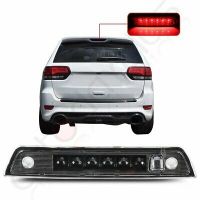 For 2005-2010 Jeep Grand Cherokee Clear Lens Third 3RD Brake Led Tail Light Lamp