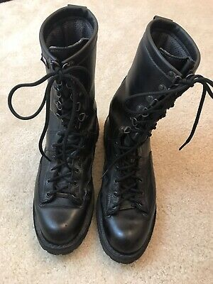 6877ed7165e DANNER FORT LEWIS used black leather boots, mens 13 D, need soles ...