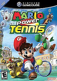 MARIO POWER TENNIS COMPLETE FIRST PRINT Nintendo NICE GAMECUBE GAME CUBE NES HQ