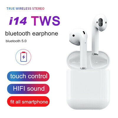 2019 i14 TWS Bluetooth 5.0 Earphone Earbuds Touch control True Wireless Canada