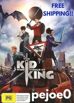 The Kid Who Would Be King DVD Reg 4 FREE POST! (2019) New!